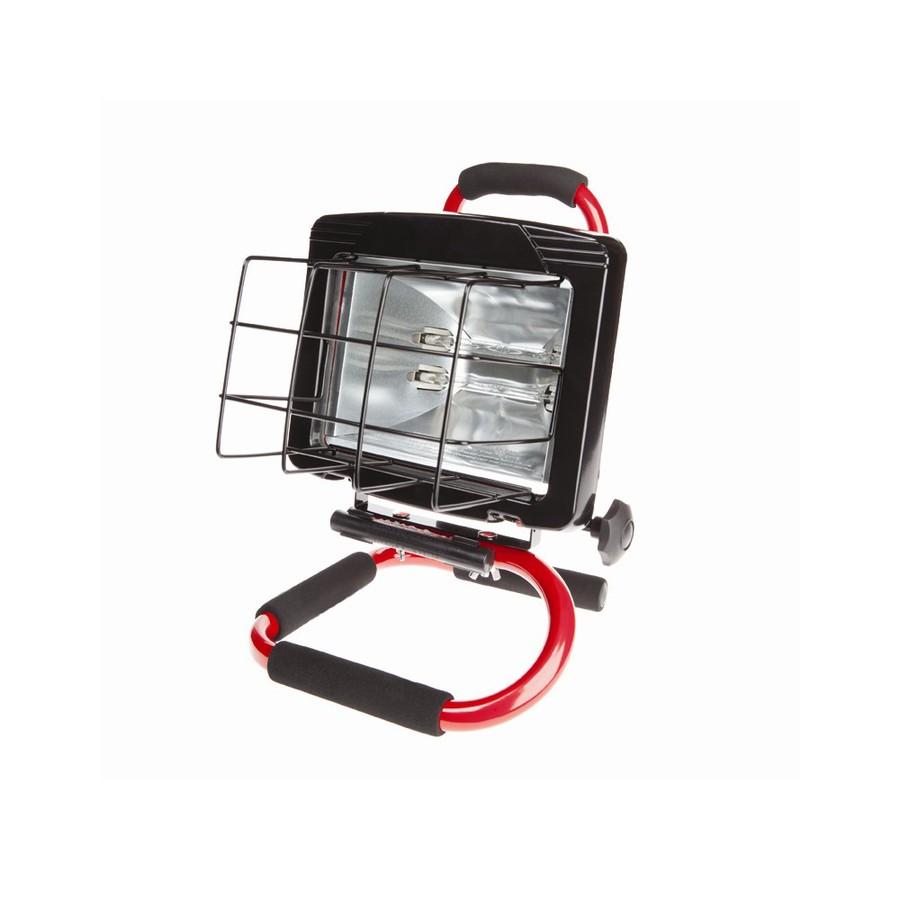 Halogen Lights For Shop: Shop Utilitech 600-Watt Halogen Portable Work Light At