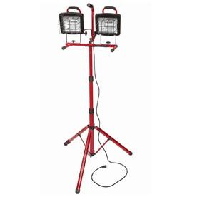Utilitech 1200-Watt Halogen Stand Work Light