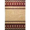 Balta Providence 24-in x 43-in Rectangular Tan Geometric Accent Rug