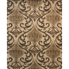Balta Manchester Brown Linnen Rectangular Indoor Machine-Made Area Rug
