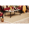 Society Page Rectangular Indoor/Outdoor Woven Area Rug (Common: 5 x 8; Actual: 63-in W x 89-in L)