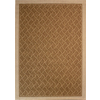 Society Page 5-ft 3-in x 7-ft 5-in Rectangular Tan Solid Indoor/Outdoor Area Rug