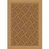 Natura 24-in x 36-in Rectangular Tan Transitional Accent Rug