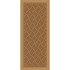 Natura 24-in x 59-in Rectangular Tan Transitional Accent Rug