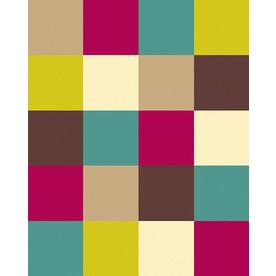 Balta Flash 3-ft 11-in x 5-ft 3-in Rectangular Multicolor Block Area Rug