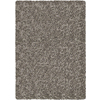 Balta Luxury Shag 5-ft 3-in x 7-ft 3-in Rectangular Gray Solid Area Rug