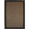 New Haven Havanah and Black Rectangular Indoor/Outdoor Machine-Made Area Rug (Common: 5 x 8; Actual: 63-in W x 90-in L)