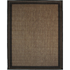 New Haven Havanah and Black Rectangular Indoor/Outdoor Machine-Made Area Rug (Common: 8 x 10; Actual: 94-in W x 120-in L)
