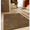 Kannapolis Chestnut Rectangular Indoor/Outdoor Machine-Made Area Rug (Common: 5 x 7; Actual: 63-in W x 89-in L)