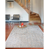 Balta Wayburn Rectangular Gray Solid Indoor/Outdoor Woven Area Rug (Common: 5-ft x 7-ft; Actual: 5.25-ft x 7.25-ft)