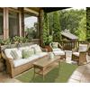 allen + roth Chilham Green Green Rectangular Indoor/Outdoor Woven Area Rug (Common: 5 x 8; Actual: 63-in W x 88-in L)
