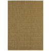 Balta Wynhaven Chestnut and Palm Green Rectangular Indoor/Outdoor Machine-Made Area Rug (Common: 5 x 7; Actual: 63-in W x 88-in L)