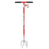 Garden Weasel Garden Claw Fixed 4-Tine Long-Handle Cultivator
