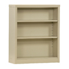 edsal Quick Assembly 2 Shelf Steel Bookcase