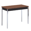 edsal Black Walnut Composite Rectangular Coffee Table