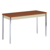 edsal Oak Composite Rectangular Coffee Table