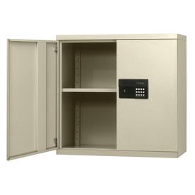 edsal 30-in W x 30-in H x 12-in D Steel Wall-Mount Garage Cabinet