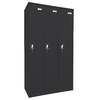 edsal 36-in W x 72-in H x 18-in D Black Steel Storage Locker