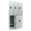 edsal 36-in W x 72-in H x 18-in D Dove Gray Steel Storage Locker