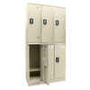 edsal 36-in W x 72-in H x 18-in D Putty Steel Storage Locker
