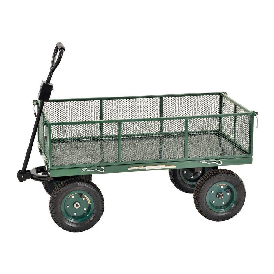 Shop edsal 26 3 4 in utility cart at lowes com