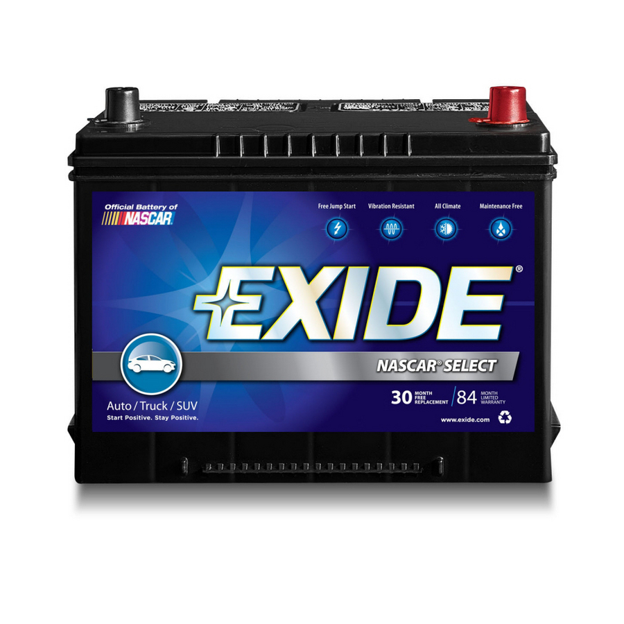 Car Battery Wet By Terminal