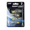 Feit Electric 4-Pack 7-Watt C7 Medium Base (E-26) Soft White Incandescent Night Light Bulbs