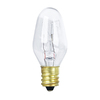 Feit Electric 4-Pack 7-Watt C7 Medium Base (E-26) Soft White Incandescent Night Light Bulbs