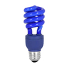Mood-lites 13-Watt (60W) Spiral Medium Base Blue (3000K) CFL Bulb