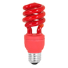 Mood-lites 13-Watt (60W) Spiral Medium Base Red (3000K) CFL Bulb
