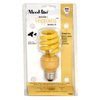 Mood-lites 13-Watt (60W) Spiral Medium Base Yellow (3000K) CFL Bulb