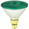 Mood-lites 90-Watt PAR38 Medium Base (E-26) Green Outdoor Halogen Flood Light Bulb