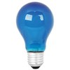Mood-lites 25-Watt A19 Medium Base Light Blue Decorative Incandescent Light Bulb