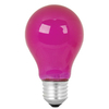 Mood-lites 25-Watt A19 Medium Base Pink Decorative Incandescent Light Bulb
