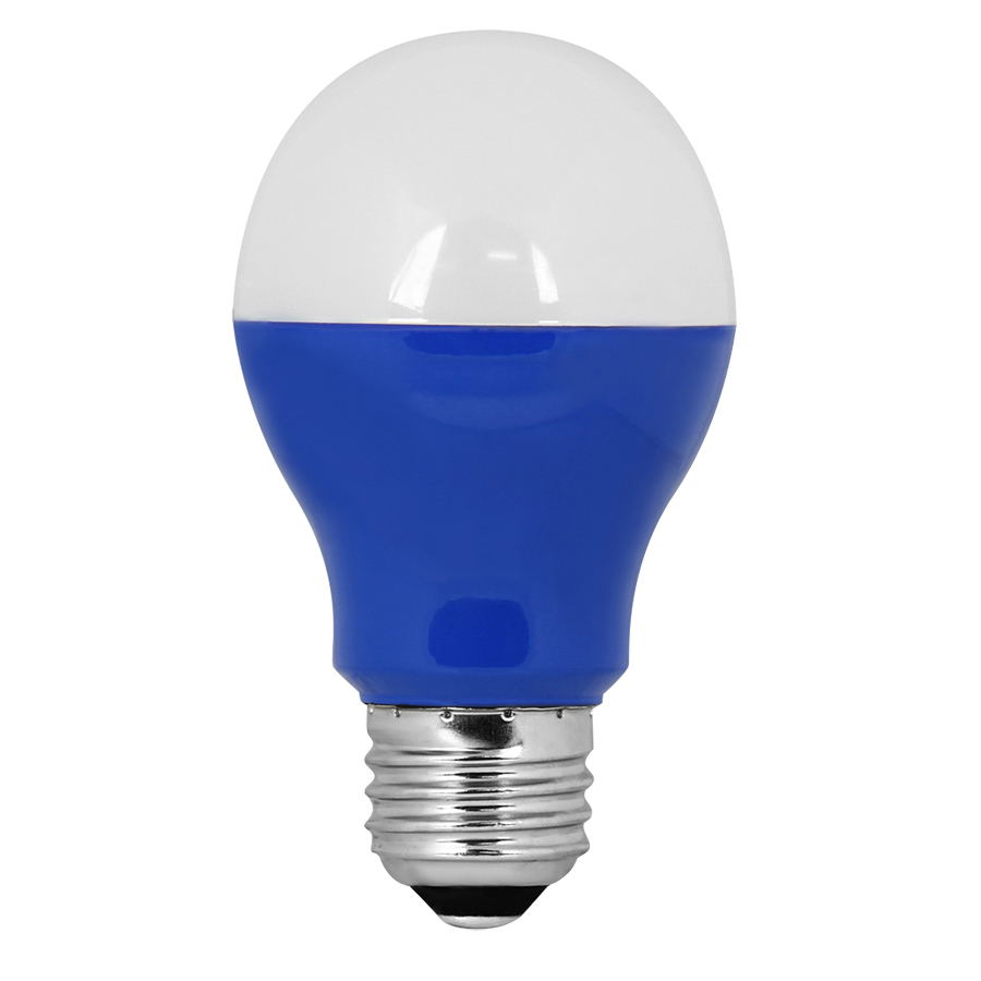 feit electric 3 watt medium base e 26 blue decorative led light bulb. Black Bedroom Furniture Sets. Home Design Ideas