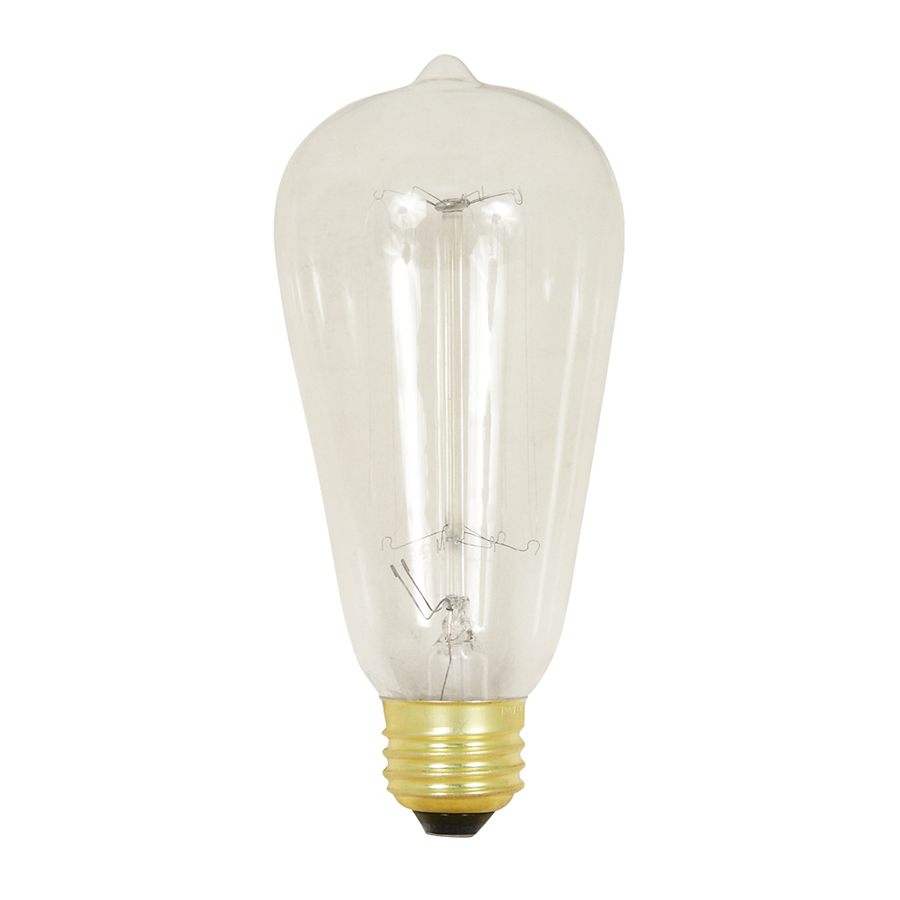 Shop Feit Electric 60 Watt Medium Base Soft White Dimmable Decorative Incandescent Light Bulb At