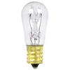 Feit Electric 2-Pack 6-Watt S Candelabra Base (E-12) Clear Incandescent Sign Light Bulbs