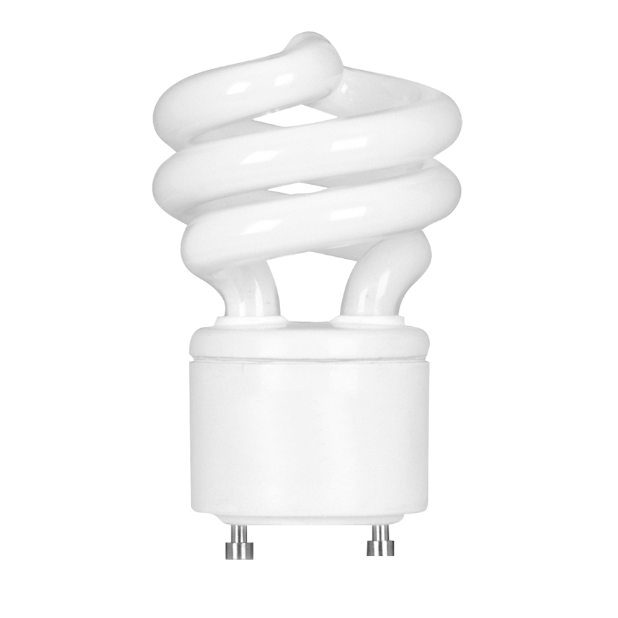 60w spiral gu24 pin base soft white cfl bulb energy star at. Black Bedroom Furniture Sets. Home Design Ideas