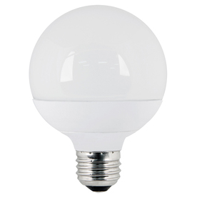 Utilitech 10-Watt Medium Base Warm White (3,000K) Decorative LED Light Bulb