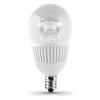 Utilitech 2-Pack 4.8-Watt (40W Equivalent) 3,000K Candelabra Base (E-12) Warm White Dimmable Decorative LED Light Bulbs