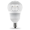 Utilitech 7-Watt (60W Equivalent) 3,000K Candelabra Base (E-12) Warm White Dimmable Decorative LED Light Bulb