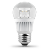 Utilitech 7-Watt (60W Equivalent) 3,000K Medium Base (E-26) Warm White Dimmable Decorative LED Light Bulb