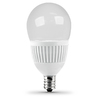 Utilitech 4.8-Watt (40W Equivalent) 3,000K Candelabra Base (E-12) Warm White Dimmable Decorative LED Light Bulb