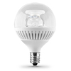 Utilitech 3-Watt (25W Equivalent) 3,000K Candelabra Base (E-12) Warm White Dimmable Decorative LED Light Bulb