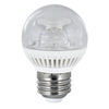 Utilitech 3-Watt (25W Equivalent) 3,000K Medium Base (E-26) Warm White Dimmable Decorative LED Light Bulb