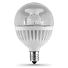 Utilitech 7.5-Watt (60W Equivalent) 3,000K Candelabra Base (E-12) Warm White Dimmable Decorative LED Light Bulb