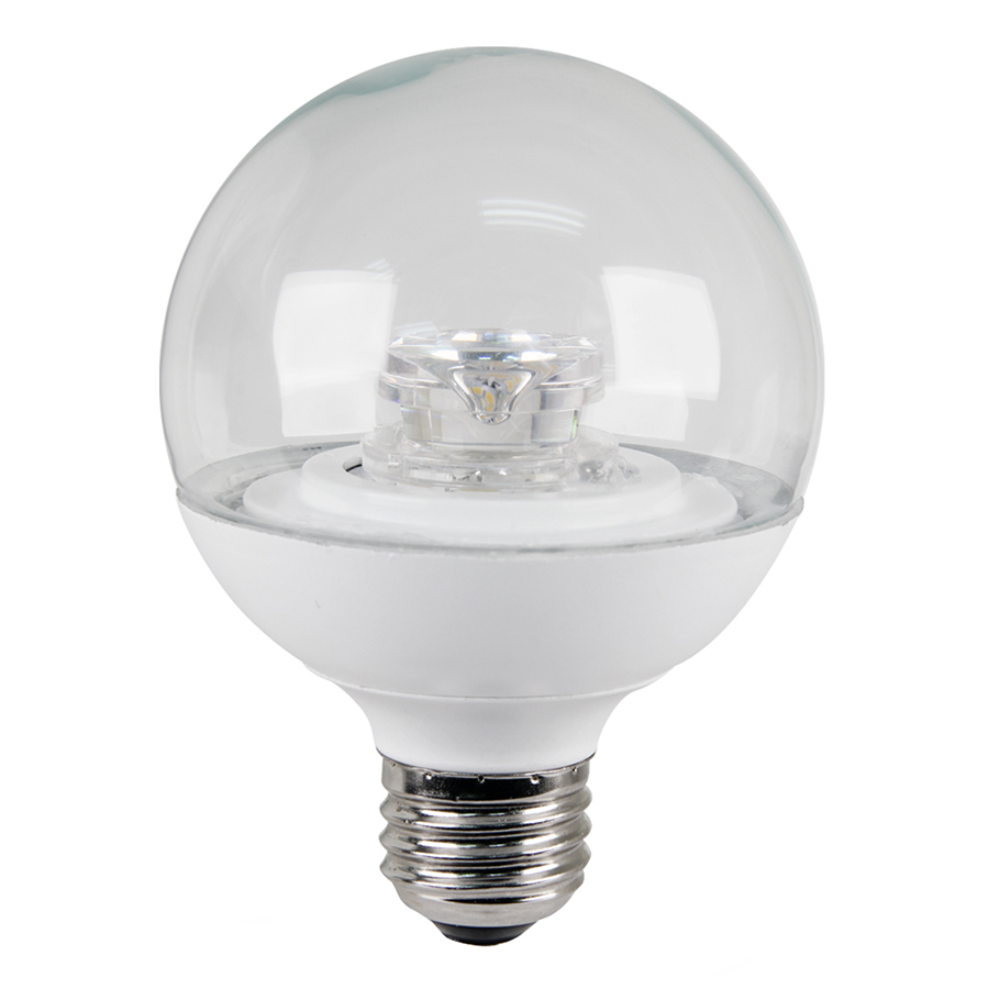 Shop Utilitech 4 Watt 25w Equivalent Medium Base Warm White Dimmable Decorative Led Light Bulb