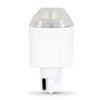 Utilitech 2-Watt (20W Equivalent) 3,000K Wedge Warm White Decorative LED Light Bulb