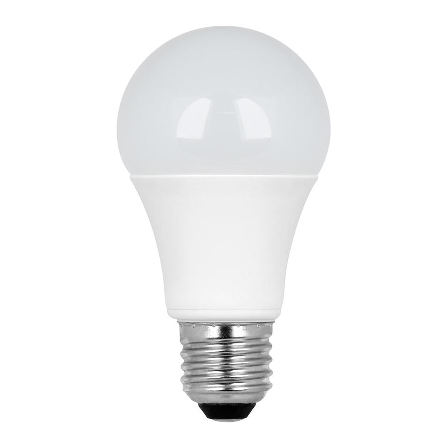 Shop Utilitech 6 3 Watt 40w Equivalent 3 000k A19 Medium Base E 26 Warm White Led Bulb At