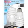 Utilitech 2-Pack 13-Watt (60W) Spiral Medium Base Bright White (3500K) CFL Bulbs ENERGY STAR